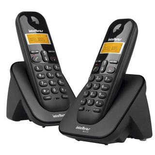Telefone Sem Fio Intelbras Ts 3112 Com 1 Ramal - Preto