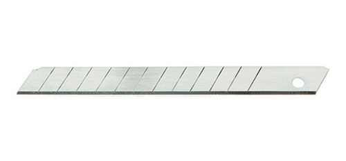 Pack 10 Hojas Repuesto Cutter Trincheta 9mm I12 O72 Sin Int