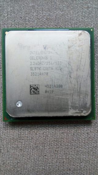 Processador Intel Celeron D 2.26 Ghz / 256 / 533