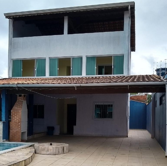 Sobrado Em Cidade Balneária Nova Peruibe, Peruíbe/sp De 255m² 3 Quartos À Venda Por R$ 304.000,00 - So454357