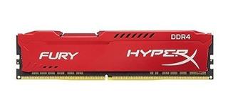 Kingston Tecnología Hyperx Furia Rojo 16gb 2666mhz Ddr4 Cl1