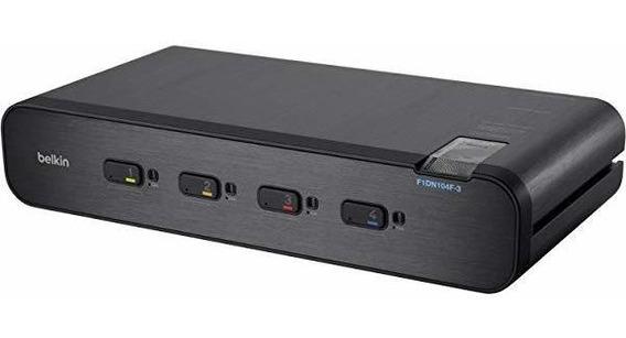 Switch Linksys F1dn104f-3 Secure Dh Dvi I Kvm 4pt ®