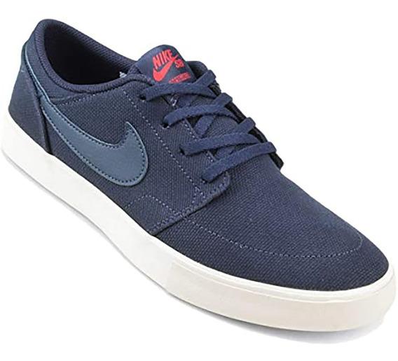Tênis Nike Sb Portmore Ii Solar Cnvs Azul