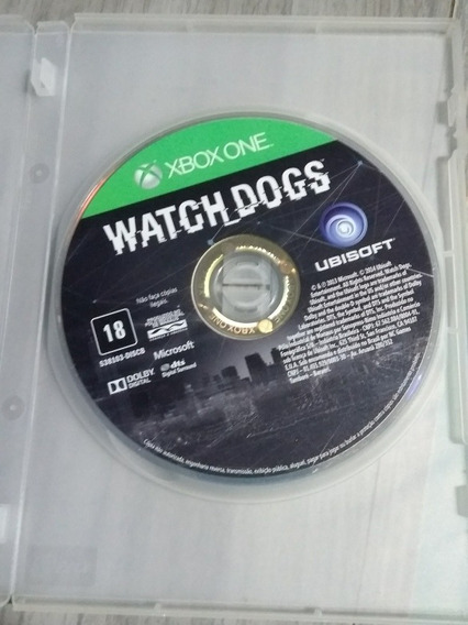 Watch Dogs Xbox One Midia Fisica (semi-novo)