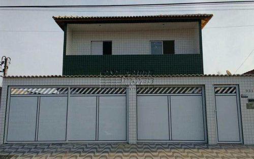 Imagem 1 de 1 de Ótima Casa De Condomínio Em Praia Grande, Com Sacada. - V5266