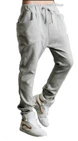 Calça Moletinho Moleton Saruel Skinny Masculina