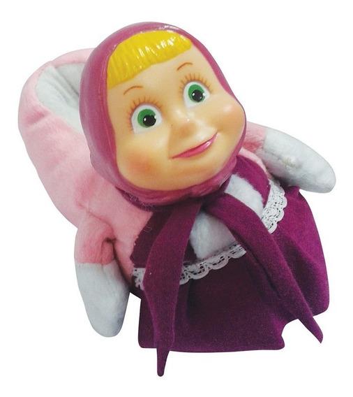 Pantuflas De Nena Personaje Masha Y El Oso. Mas653