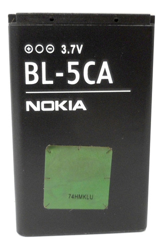 Imagen 1 de 8 de Bateria Original Nokia Bl-5ca 3.7v 700mah (2009) E3063