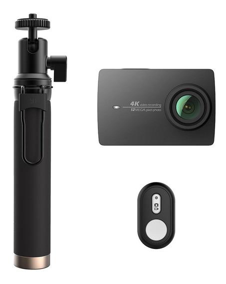 Câmera Xiaomi Yi 2 4k 12mp Original + Selfie Stick Bluetooth
