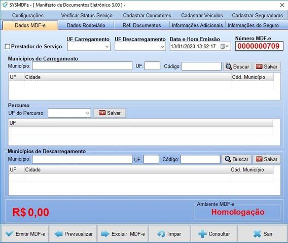 Fontes De Emissor De Mdf-e 3.00a Ultima Nt 2020 Só 300,00