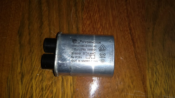 Capacitor Microondas 85uf +-3%b10/85/21 2100vac 50/60hz