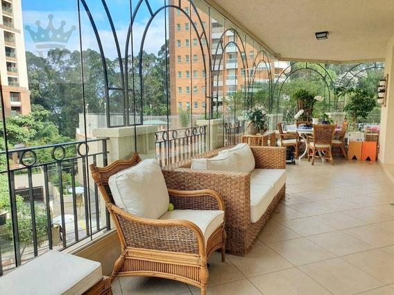 Apartamento Com 4 Dormitórios À Venda, 260 M² Por R$ 2.300.000 - Morumbi - São Paulo/sp - Ap2998