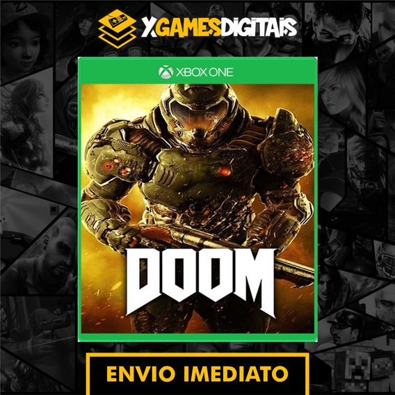 Doom Xbox One Midia Digital + 1 Brinde