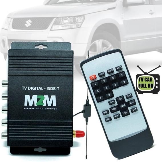 Receptor Tv Digital Full Hd Automotivo Suzuki Grand Vitara