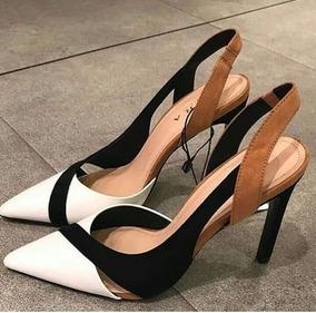 881d6e601 Sapato Mocassim Infantil Tigor - Scarpins para Feminino Branco no ...