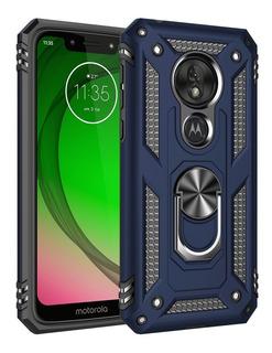 Motorola Moto G7 Power Carcasa Antishock Anillo | Kyrios