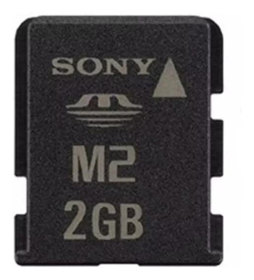 Cartão Memória Micro M2 2gb Sony Original Com Adaptador