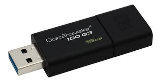 Pendrive Kingston Datatraveler Usb 3.1 Usb 3.0 16gb Elegante