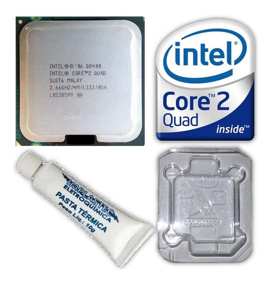 Processador 775 Intel Core 2 Quad Q8400 2.66ghz 4mb Cache