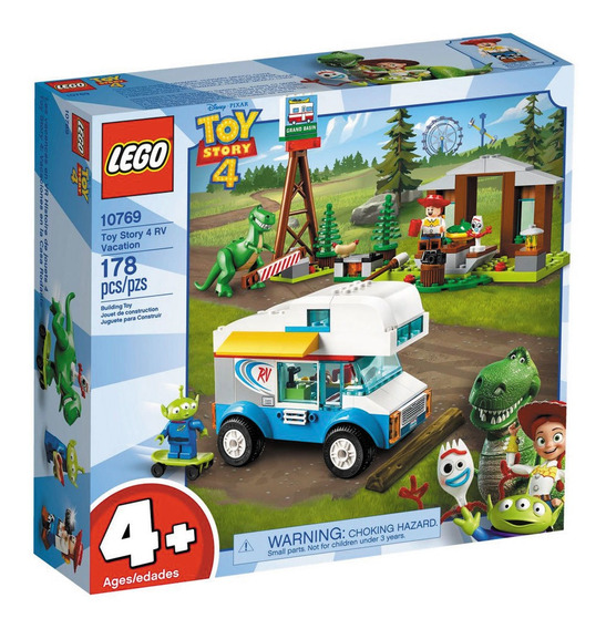 Lego Juniors - Disney - Toy Story 4 - Férias Com Trailer - 1