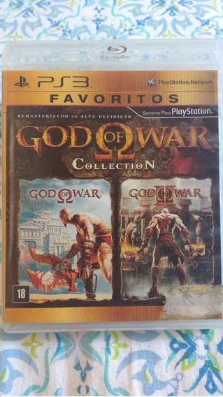 God Of War Collection( 1 E 2 ) - Mídia Física(leia) - Ps3