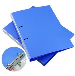 Carpeta Bibliorato A4 2 Anillos   Deli   Azul