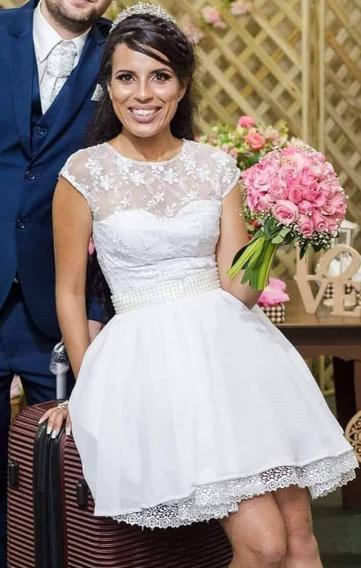 Vendo Vestido De Noiva Curto