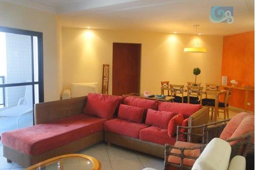 Imagem 1 de 16 de Apartamento À Venda - Praia Das Pitangueiras - Guarujá - Ap4309