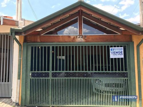 Casa Com 3 Dormitórios À Venda Por R$ 477.000 - Jardim Morada Do Sol - Indaiatuba/sp - Ca1265