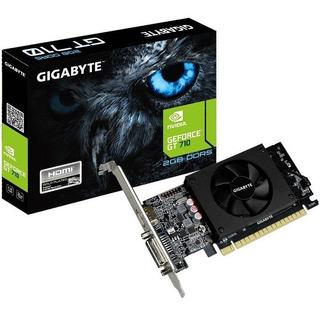 Tarjeta De Video Nvidia Gigabyte Gt 710 Geforce 2gb Gddr /vc