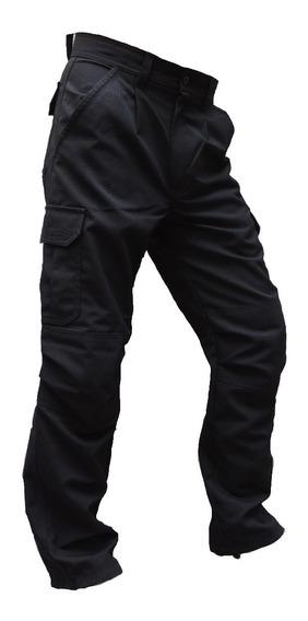 Pantalon Cargo Ripstop Forrado Desmontable Reforzado Abrigo