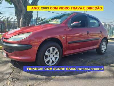 Peugeot 2003 Financio Mesmo Com Score Baixo
