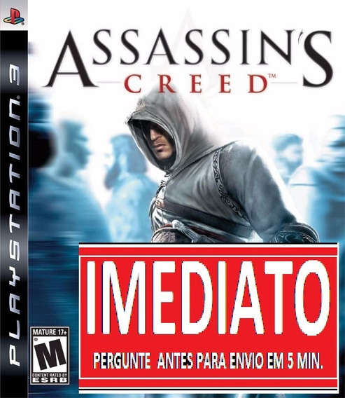 Assassins Creed 1 Ps3 Psn Midia Digital