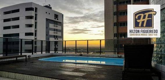 Apartamento Com 3 Dormitórios Para Alugar, 77 M² Por R$ 1.300/mês - Bessa - João Pessoa/pb - Ap5653