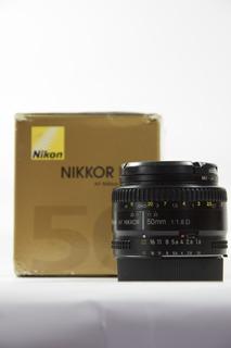 Nikon Lens 50mm 1.8d Prime Lens