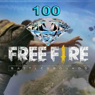 110 Diamantes Free Fire - 24 Hs