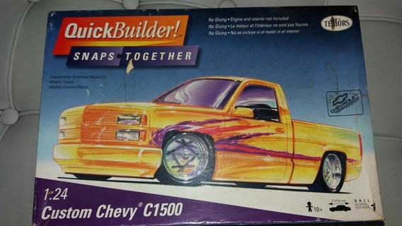 Chevy 1500 Silverado 1/24 Testors Raro