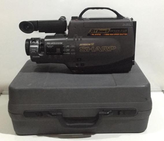 Filmadora Sharp Mod. Vl-l310b + Acessórios (no Estado)