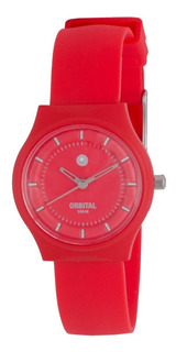 Reloj Orbital Caucho Ed393180 Sumergible Mini Cyber Outlet