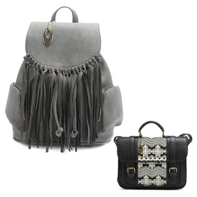 Bolsa Mormaii Satchel + Mochila Feminina Fashion Reforçada