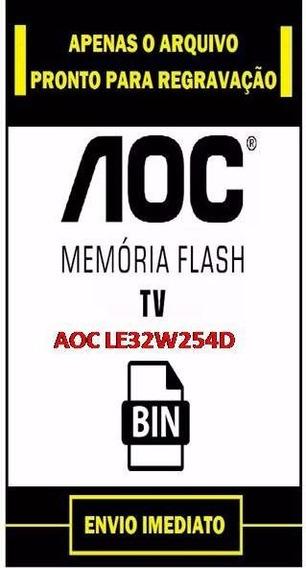Dados Tv Aoc Le32w254d - Arquivo Dados Flash Eeprom Flash