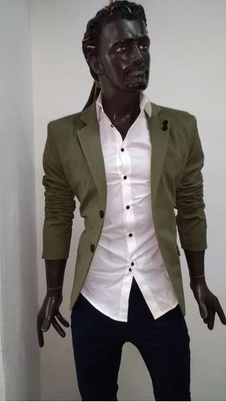 Saco Para Hombre Corte Slim Fit 00230