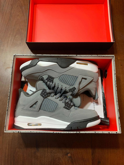 Air Jordan Retro 4 Cool Grey 8.5