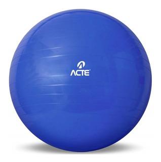 Bola Suíça Ginástica Pilates Com Bomba - Acte Sports 65cm