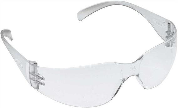 10 Óculos Proteção Visão Leopardo Incolor Caixa (10unidades)