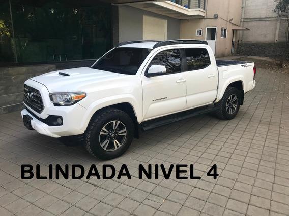 Toyota Tacoma Blindada Nivel B4 Plus 2016 (impecable)