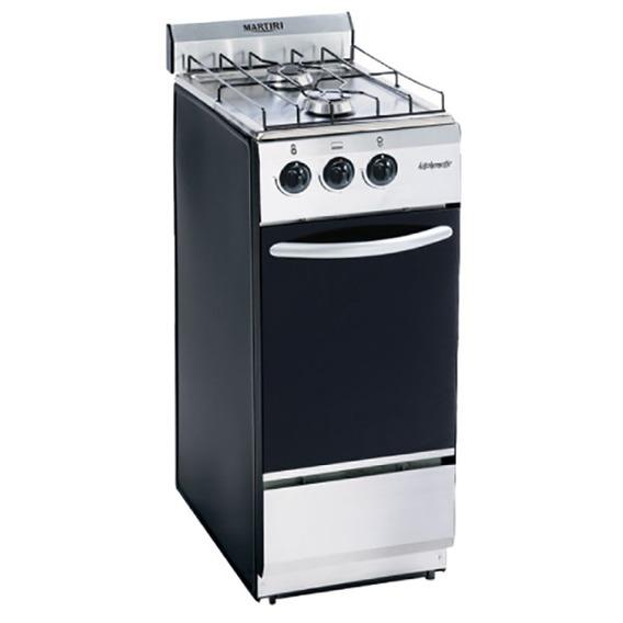 Cocina Martiri Kitchenette 2 Hornallas Gas Acero Inoxidable
