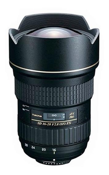 Lente Grande Angular Tokina 16-28 F 2.8 Pro Fx Para Canon E