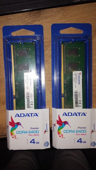 Memorias Ram De 4 Gigas Ddr4 A 2400 Mhz