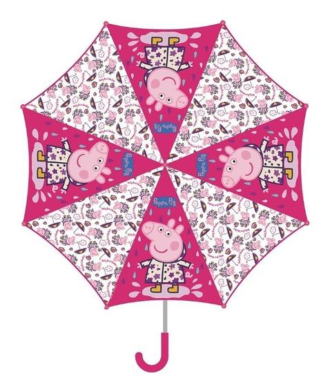 Paraguas Lluvia Infantil Peppa Pig Susy Cresko Pp292 Cuotas